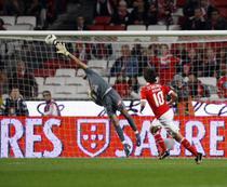 Pablo Aimar, gol superb pentru Benfica