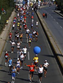 Editia aniversara a maratonului din Grecia