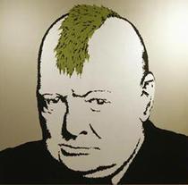Winston Churchill by Banksy