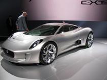 Jaguar concept C-X75, masina electrica de 780 CP