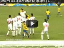 Dani Alves, gol superb cu Iranul