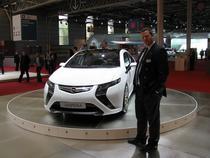 Enno Fuchs langa Opel Ampera