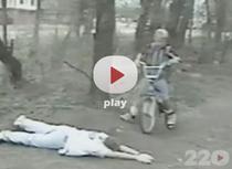 Calcat cu bicicleta