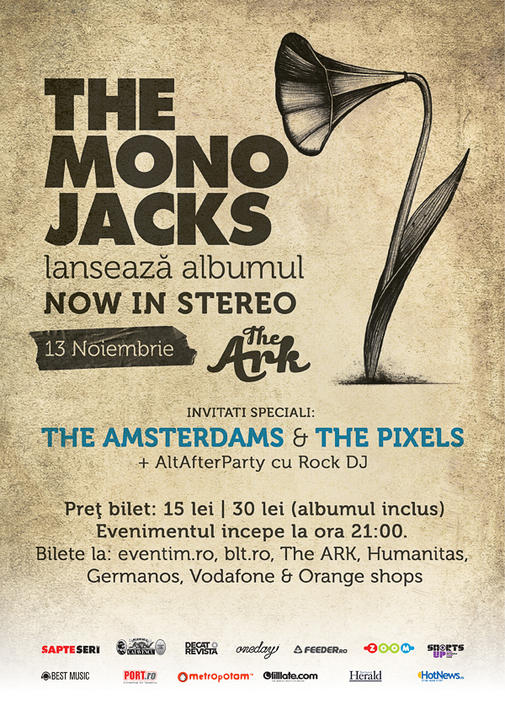 """afis The Mono Jacks - """"Now In Stereo"""""""