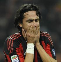 Inzaghi, indisponibil pentru sase luni
