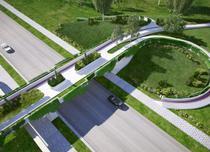 Pod pietonal din Parcul Izvor - proiect