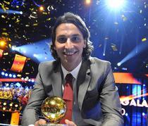 Ibrahimovic, cel mai bun jucator al Suediei
