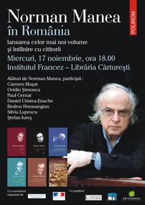 Norman Manea la Bucuresti