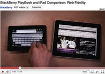 PlayBook vs. iPad
