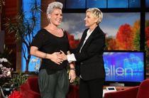 Pink si Ellen DeGeneres