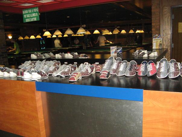 Parada pantofilor de bowling