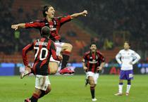 Ibrahimovic invinge pe Fiorentina