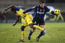 Inter, invinsa de Chievo