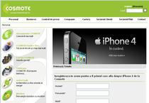 iPhone 4, vandut si de Cosmote