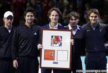 Carlos Moya, onorat de ATP
