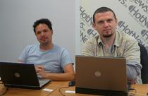 Alexandru Itcus si Emil Budau