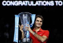 Federer, la al cincilea trofeu al Turneului Campionilor