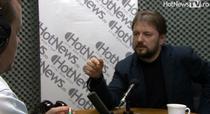Cristian Parvulescu in studioul HotNews.ro