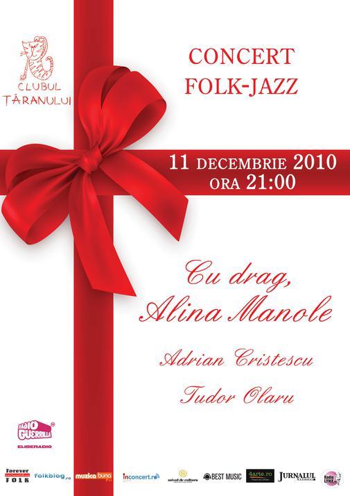afis concert Alina Manole