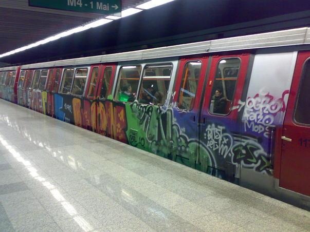 La metrou.