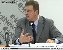 Stefan Ciobanu la seminarul gazduit de HotNews.ro