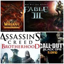 Cele mai asteptate jocuri ale sfarsitului de an