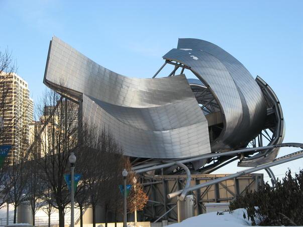Arta moderna in Millenium Park