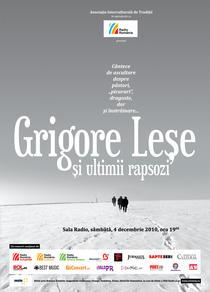 Grigore Lese si ultimii rapsozi