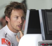 Jenson Button, pilot McLaren Mercedes