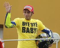 Rossi, locul trei la Valencia