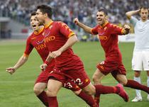 Roma, invingatoare in derby-ul cu Lazio