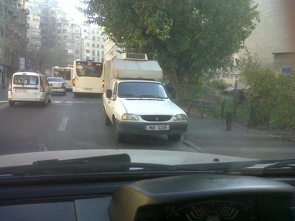 Parcare la MI, nu in Londra