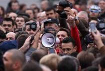 Fotogalerie: Protest Mircea Badea
