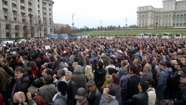 Protestul lui Mircea Badea