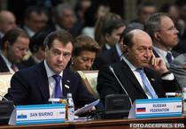Medvedev si Basescu la Summitul OSCE