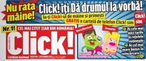 Campania Click! e promovata de cateva zile