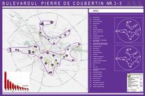 Harta centrelor comerciale din Bucuresti