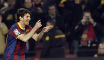 Messi, o noua dubla pentru Barca