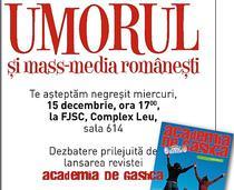 Umorul si mass-media romanesti