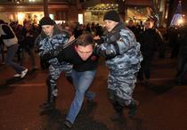 Politisti operind arestari in Moscova