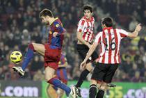 Barcelona, remiza alba pe Nou Camp