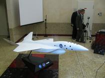 Macheta primului avion supersonic romanesc