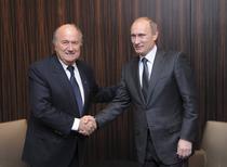 Blatter si Putin la Zurich