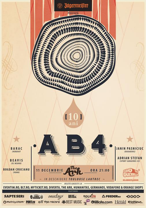 AB4, poster