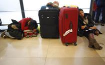Pasageri blocati pe aeroportul Barajas din Madrid