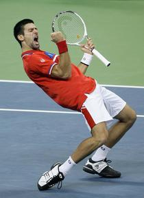 Djokovic egaleaza Franta la 2 in finala Cupei Davis
