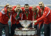 Serbia castiga Cupa Davis