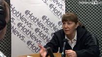 Monica Macovei in studioul HotNews.ro