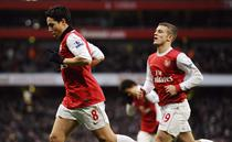 Arsenal, la un pas de optimile Ligii Campionilor