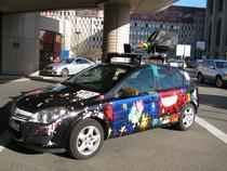 Masina folosita de Google pentru Street View